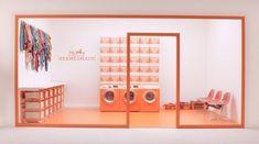 Can Pop-Up Fashion Stores Reinvent Luxury Retail? Retail Interior, Interior Exterior, Interior Design, Interior Shop, Boutique Interior, Vitrine Design, Retail Store Design, Retail Stores, Pop Up Shops