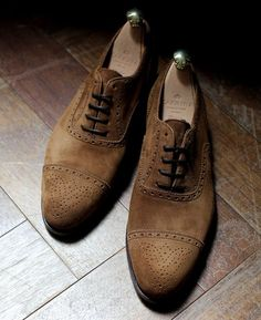 Suede Brogues. If you like shoes in general check out this board-----> https://www.pinterest.com/marcuswalton35/mens-shoes/