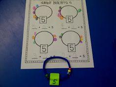Number bonds- fun activity!