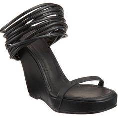 Rick Owens Loose Ankle Cuff Sandal - if the heel were about an inch shorter, I would.