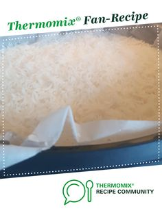 Recipe Steam rice in varoma basket by Thermoyummy, learn to make this recipe easily in your kitchen machine and discover other Thermomix recipes in Side dishes. Vegan Gluten Free, Vegan Vegetarian, Steamed Rice, Side Dishes, Basket, Community, Cooking, Recipes, Food