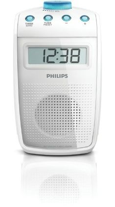 Philips AE2330 Tragbares Duschradio (UKW-/MW-Tuner, LC-Display) wei�
