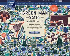 Nous Vous: Green Man Festival 2014 website