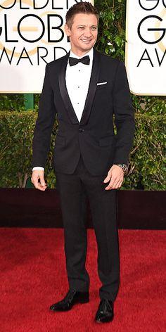 Jeremy Renner - Golden Globes 2015