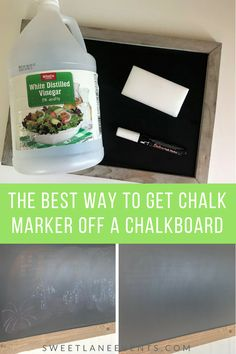 The best way to get chalk marker off a chalkboard. Worried you have ruined your chalkboard? Chalk marker pen not coming off your chalk board. Chalk marker ghost left behind. Cleaning solution is in your pantry How To Clean Chalkboard, Outdoor Chalkboard, Chalkboard Markers, Chalkboard Vinyl, Chalkboard Doodles, Chalkboard Drawings, Chalkboard Lettering, Chalkboard Designs, Chalk Drawings