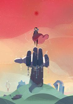 Animation Viviane Tanner - Illustration - The online portfolio of Viv Tanner. Beauty Illustration, Illustration Fantasy, Illustration Vector, Illustration Styles, Animation, Fantasy Kunst, Pretty Art, Aesthetic Art, Cool Drawings