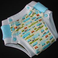 Tinkle Time Trainer - xs up to xxl  Can also be used to make underwear