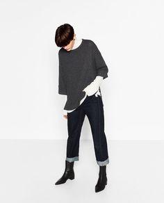 OVERSIZED SWEATER-Sweaters-KNITWEAR-WOMAN   ZARA France