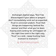 Archangel Jophiel, Empath Abilities, Archangel Prayers, Dont Be Discouraged, Spirit Soul, Angels, Life Quotes, Spirituality, Wisdom