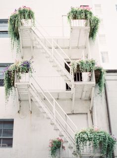 Fire Escape in New Orleans | photography by http://www.greergphotography.com/