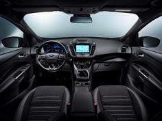 Dit is de vernieuwde Ford Kuga, komt begin 2017