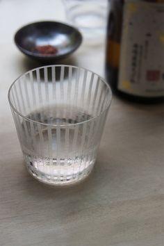 Edo Kiriko glass from Japan-Suite.com  #summersake #Sake #Sakeglass #Hiyaoroshi #nihonshu #日本酒 #酒 #ひやおろし #火入れ #alcohol #nagano #japan #japansuit #craft #sasonaldrinks #pasteurize #brew #drinks #craftsmanship #edo
