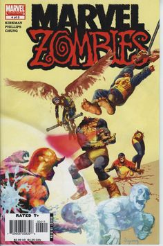 This latest chapter in this awesome Marvel Zombies series... Pits the undead heroes and villains against Galactus in a race to see who can eat first!
