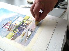 P1430574 Celine, Watercolor, Drawing, Art, Watercolors, Watercolor Sea, Painting With Watercolors, Drawing Drawing, Art Background