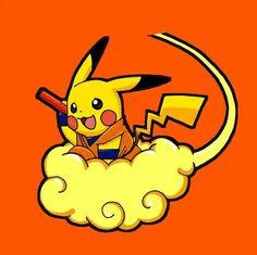 Pikachu Dragon Ball Style