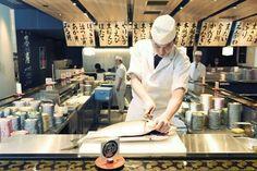 Let's taste the fresh fish like an artwork! Sushi Bar Numazuko Ginza@ Kirarito Ginza 8F #japankuru #japan #cooljapan #tokyo #100tokyo #sushi #kirarito #numazuko #ginza #sushibar #mountfuji