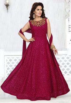 Product not found! Long Anarkali Gown, Long Gown Dress, Anarkali Suits, Dress Up, Salwar Designs, Kurta Designs Women, Indian Gowns Dresses, Flapper Dresses, Pakistani Dresses