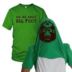 Fab.com | Bigfoot Flip Up Tee