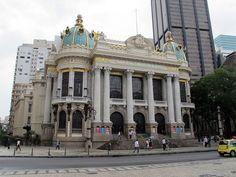 Teatro Municipal Rio de Janeiro - Arquitetura eclética – Wikipédia, a enciclopédia livre