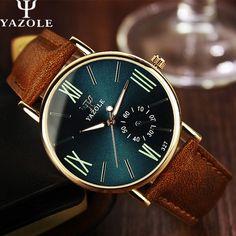 YAZOLE Quartz Watch Men Watches Top Brand Luxury Famous Wristwatch Male Clock Business Fashion Quartz-watch Relogio Masculino