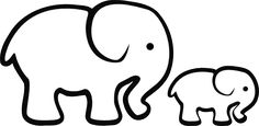 mind-blowing-method-on-elephant-clipart-outline-songkle.png (600×293)