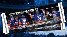 New York Islanders - 2016 Playoffs New York Islanders, National Hockey League, Stanley Cup, Long Island, Nhl, Pride, Baseball Cards, Sports, Hs Sports