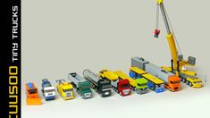 LEGO set database: Cuusoo of the Week: Tiny Trucks by Robiwan and two clarifications on Cuusoo Legos, Lego Cars Instructions, Lego Titanic, Micro Lego, Lego Truck, Ho Model Trains, Lego Construction, Lego Trains, Lego Toys