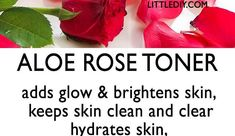 Toner is nothing but beauty water with skin beneficial ingredients that cleanse, hydrate and prepare skin for the next skin care product. Alcohol based commercial toners are drying and can cause breakouts due to sebum READ MORE. Rose Toner, Fresh Rose Petals, Beauty Water, Unclog Pores, Aloe Leaf, Vitamin E Oil, Skin Brightening, Glowing Skin, Cleanse