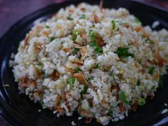 sakura shrimp fried rice | Taiwanese Food 櫻花蝦炒飯