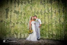 Lauren and Kevin went inside one of the Barn silos for photos! #barn #rustic #wedding #barnwedding #rusticwedding #ceremony #silo #peronafarms @blochinger