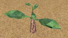 Large preview of 3D Model of 3D Mango Plant Sprout