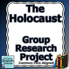 Introduce the Holocaust to your middle or high school students with this CCSS aligned, collaborative research project.