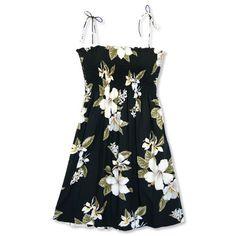 0ca8f98738 lumahai black hawaiian starkiss dress