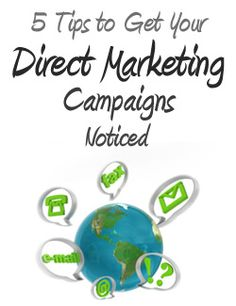 5 Tips to Get Your Direct Marketing Campaigns Noticed #emailing
