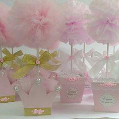 Centros de mesa rosa pastel