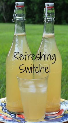 Switchel Recipe Basic Ingredients 2 quarts filtered water 1/2 cup raw apple cider vinegar  1/2 cup raw honey 2 tsp organic ginger powderor2.5 Tbl fresh grated ginger