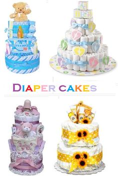 Diaper Cakes | Time for the Holidays