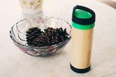 bamboo water bottle...interesting concept