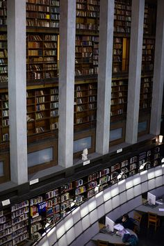 The old main library in Oslo.