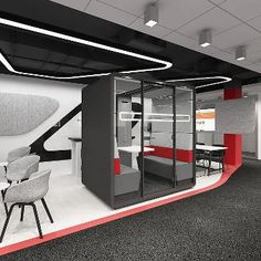 Hush Meet Pod is a private pod with good acoustics and a variety of features designed to make a comfortable and functional space to meet and work in. Office Pods, Home Organisation, Organization, Commercial Furniture, Led Ceiling Lights, Deep Cleaning, Hush Hush, Portfolio Design, Meeting Rooms
