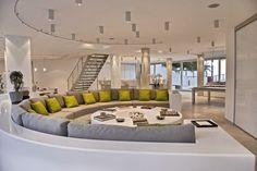 Eden Rock, St Barths. Great family sofa!