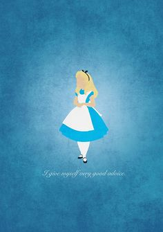 Alice in Wonderland inspired design (Alice).