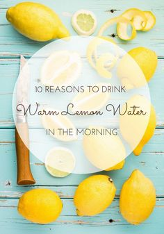 Learn the health benefits of drinking warm lemon water every morning including hundreds of helpful comments and testimonials.