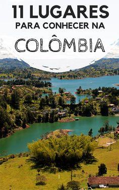 Colômbia: 11 lugares incríveis para você incluir no seu roteiro de viagem. Descubra quais cidades, destinos e praias você pode incluir nos seus dias de turismo pelo território colombiano.