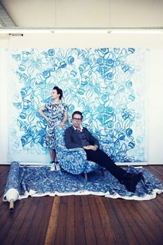 Born to be wild: the fabric designers taking Australia's flora and fauna to the world