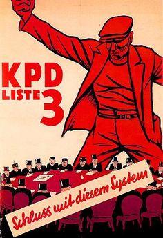 German Communist Poster, 1932