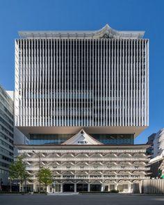 kengo kuma's 'hotel royal classic' floats above osaka heritage building Kengo Kuma, Osaka, Architecture, Skyscraper, Classic, Multi Story Building, Creative Inspiration, Design Inspiration, Tower