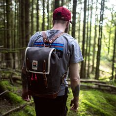 WATERPROOF YOUR CANVAS BACKPACK WITH YKRA MAGIC BEESWAX Canvas Backpack, Sling Backpack, Waxed Canvas, Outdoor Outfit, Cold Weather, Inventions, Birds, Magic, Photoshoot