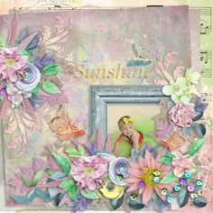 Rise & Shine by Laitha's Designs http://www.thedigichick.com/shop/Rise-And-Shine-Page-Kit.html