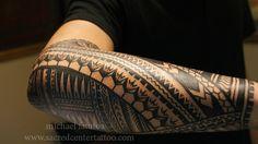 forearm by Samoan Mike @Sacred Center Tattoo
